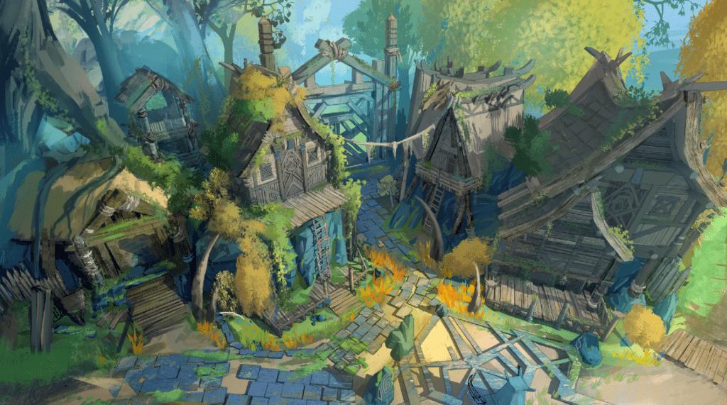 concept - jungle houses