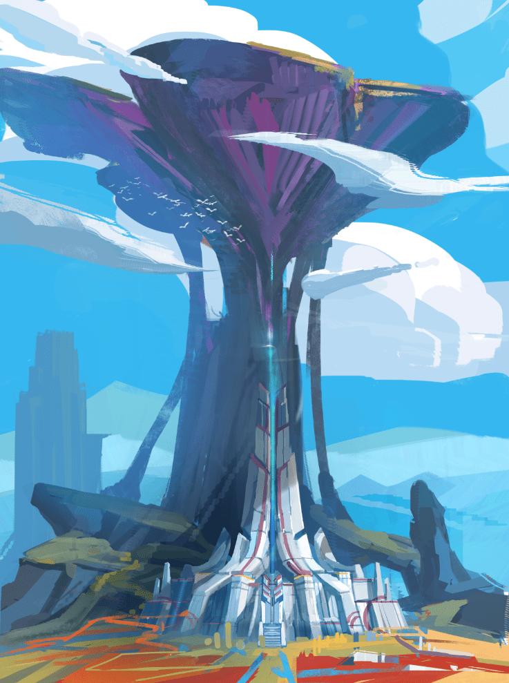 concept - temple